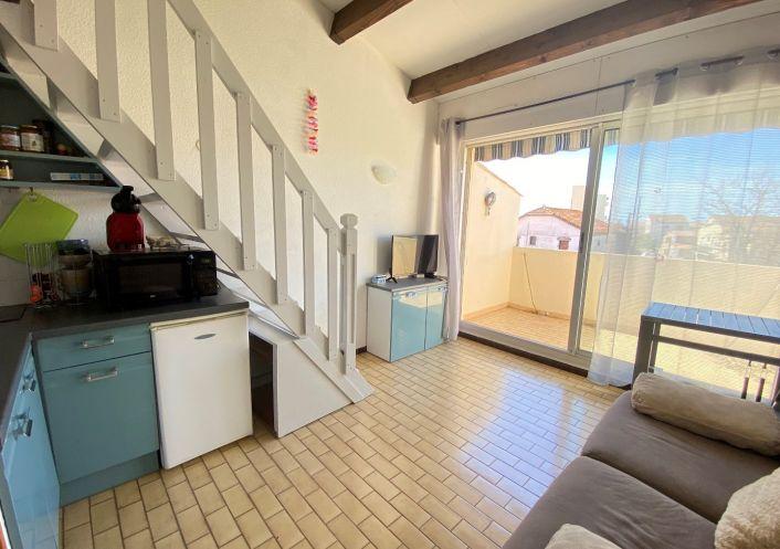 A vendre Studio cabine mezzanine Le Grau D'agde   Réf 3415530150 - S'antoni immobilier grau d'agde