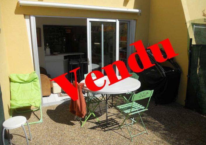 A vendre Appartement en rez de jardin Le Cap D'agde   Réf 341592436 - Cap zéphyr
