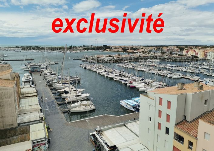 A vendre Studio Le Cap D'agde | Réf 341593002 - Cap zéphyr