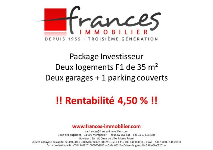 For sale Montpellier 341682374 Frances immobilier