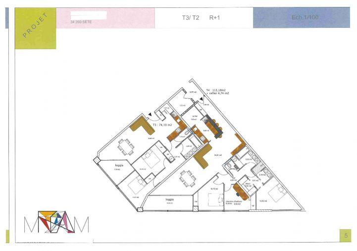 A vendre Appartement Sete | R�f 341751541 - Open immobilier