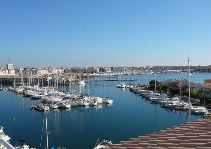A vendre Appartement en marina Le Cap D'agde | Réf 341911202 - Serna immobilier