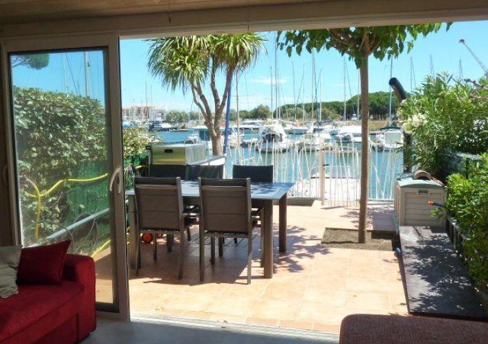 A vendre Maison en marina Le Cap D'agde | Réf 341911421 - Serna immobilier