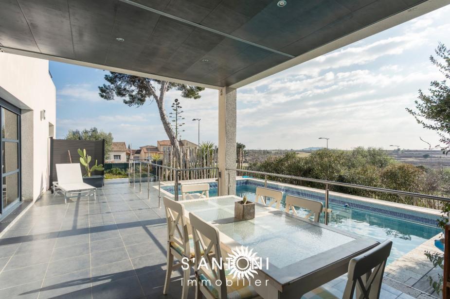 A vendre Marseillan 3419930818 S'antoni immobilier marseillan centre-ville