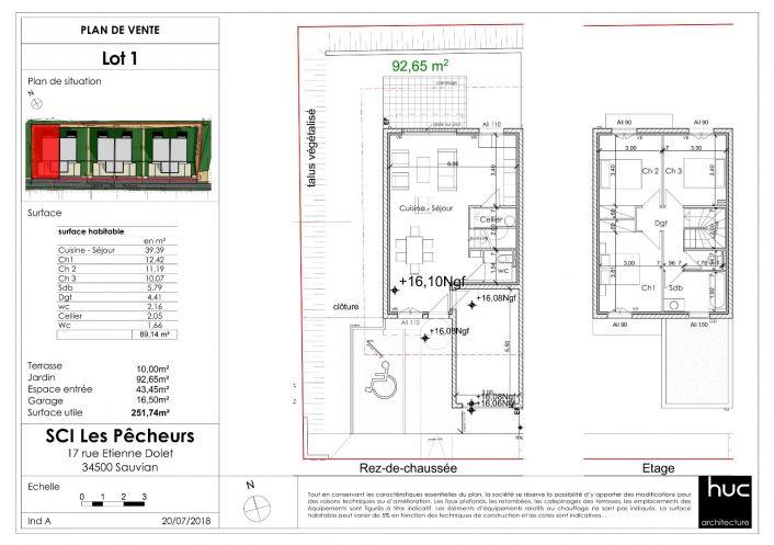 A vendre Serignan 342002145 Comptoir de l'immobilier