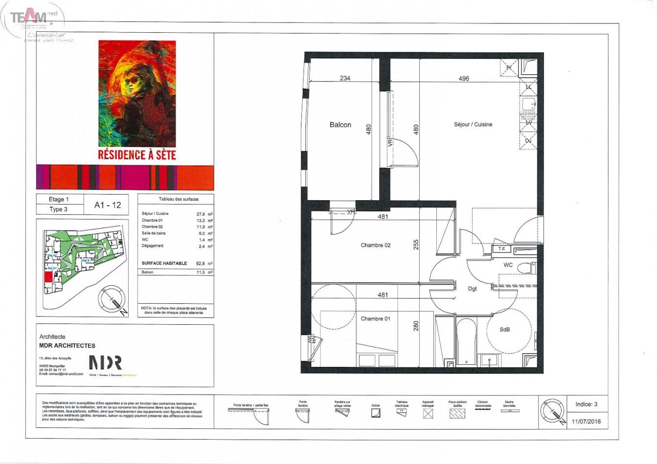 A vendre Sete 342301883 Agence du levant