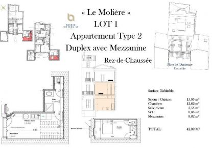 A vendre Beziers 342401336 Ag immobilier