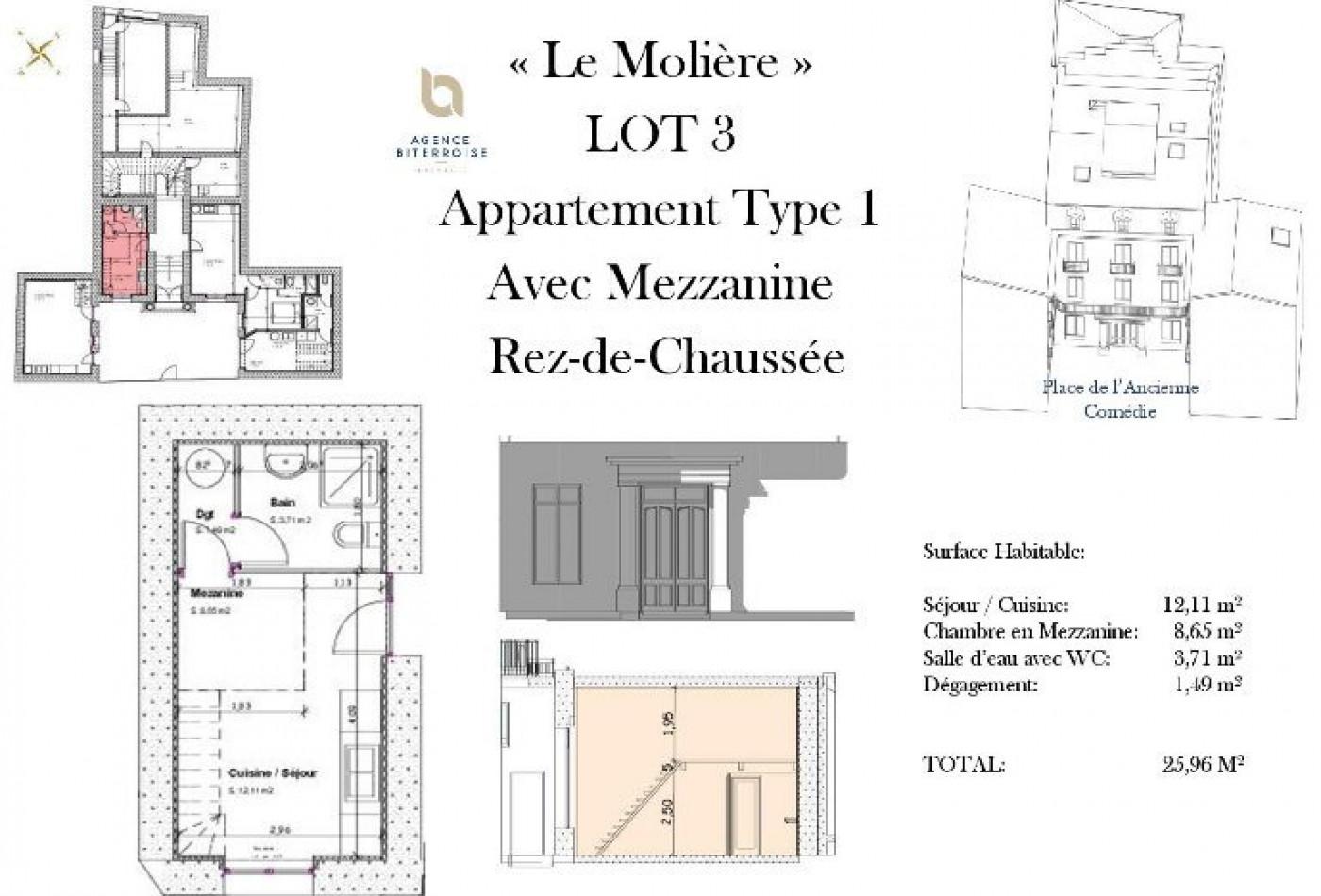 A vendre Beziers 342401339 Belon immobilier