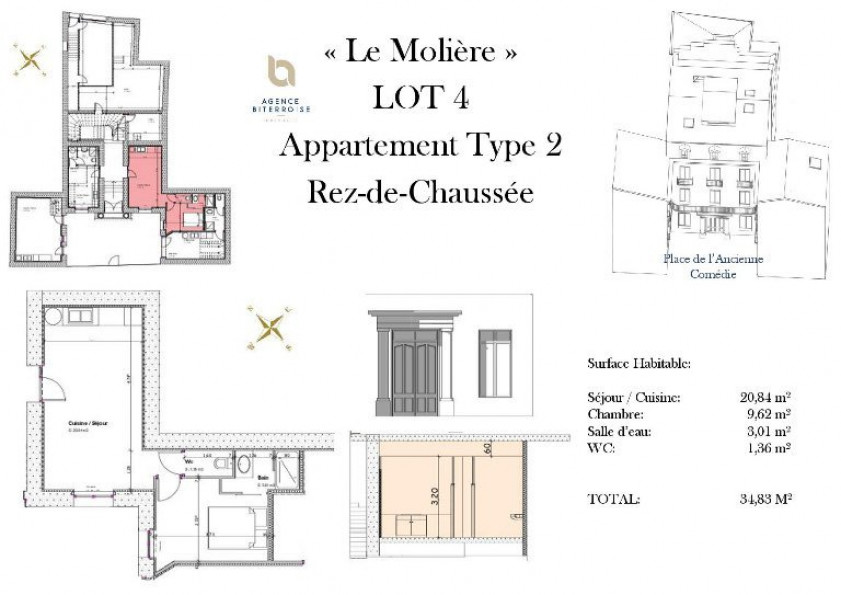 A vendre Beziers 342401340 Moerland immobilier
