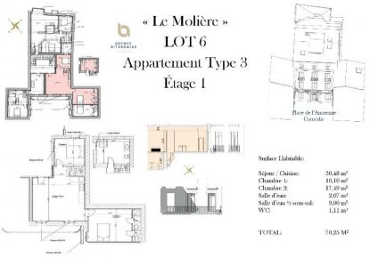 A vendre Beziers 342401342 Moerland immobilier