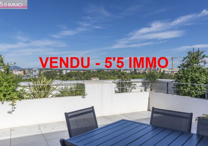 A vendre Appartement terrasse Montpellier | Réf 342611509 - 5'5 immo