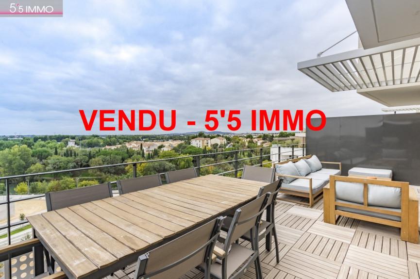 A vendre  Montpellier   Réf 342611532 - 5'5 immo