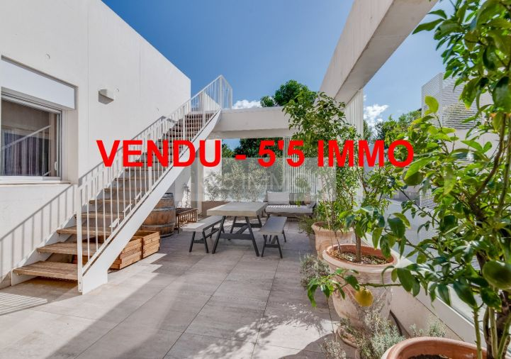 A vendre Appartement terrasse Montpellier | Réf 342611665 - 5'5 immo