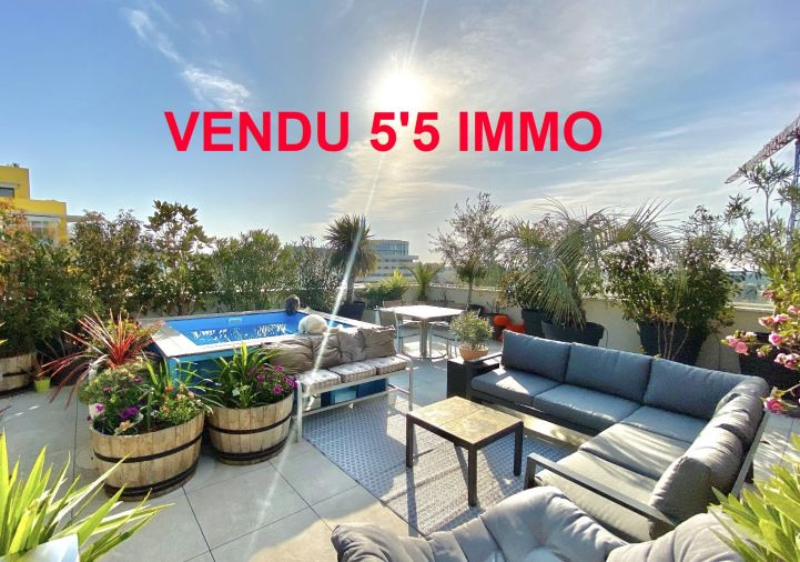 A vendre Appartement terrasse Montpellier | Réf 342612012 - 5'5 immo