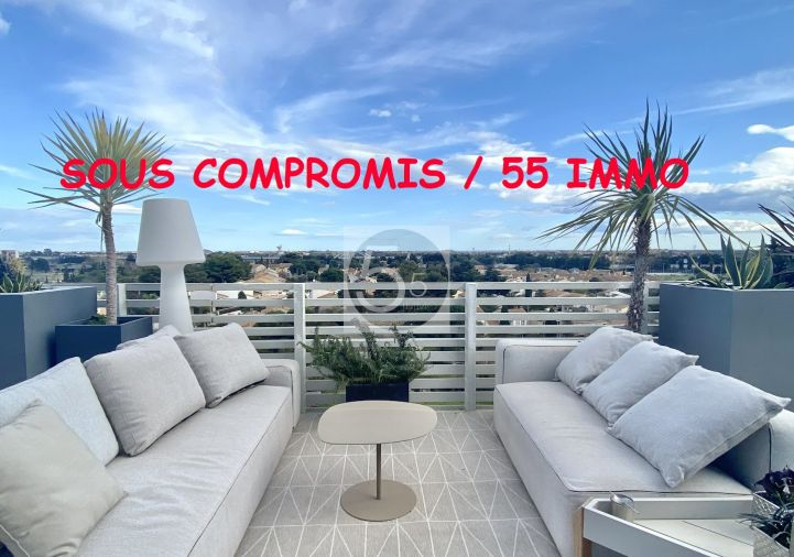 A vendre Appartement terrasse Montpellier   Réf 342612013 - 5'5 immo