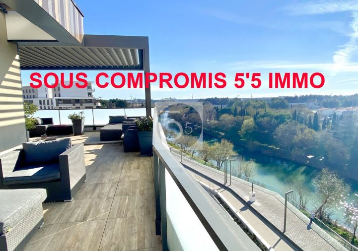 A vendre Appartement terrasse Montpellier | Réf 342612142 - 5'5 immo