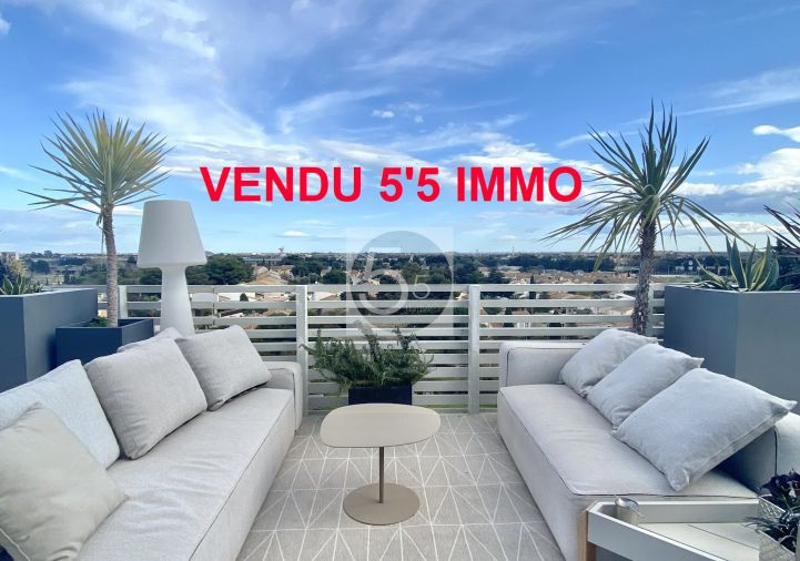 A vendre Appartement terrasse Montpellier   Réf 342612201 - 5'5 immo