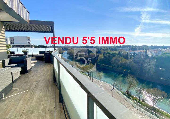 For sale Appartement terrasse Montpellier | R�f 342612253 - 5'5 immo