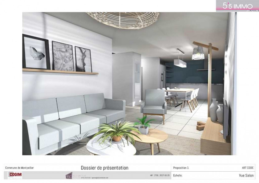 A vendre Montpellier 34261952 5'5 immo
