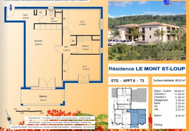 A vendre Agde 3427217337 Berge immo