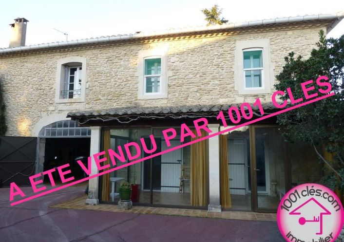 A vendre Maison en pierre Sommieres | Réf 3429824684 - 1001 clés