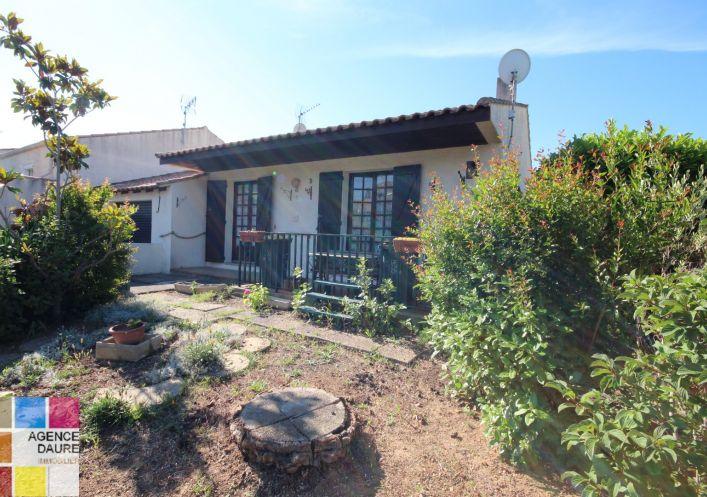 A vendre Maison Portiragnes   Réf 343061413 - Agences daure immobilier