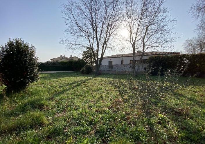 A vendre Terrain constructible Valergues   R�f 3431753692 - Flash immobilier