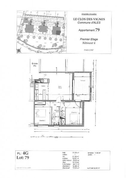 A louer Ales 3432526099 Thélène immobilier