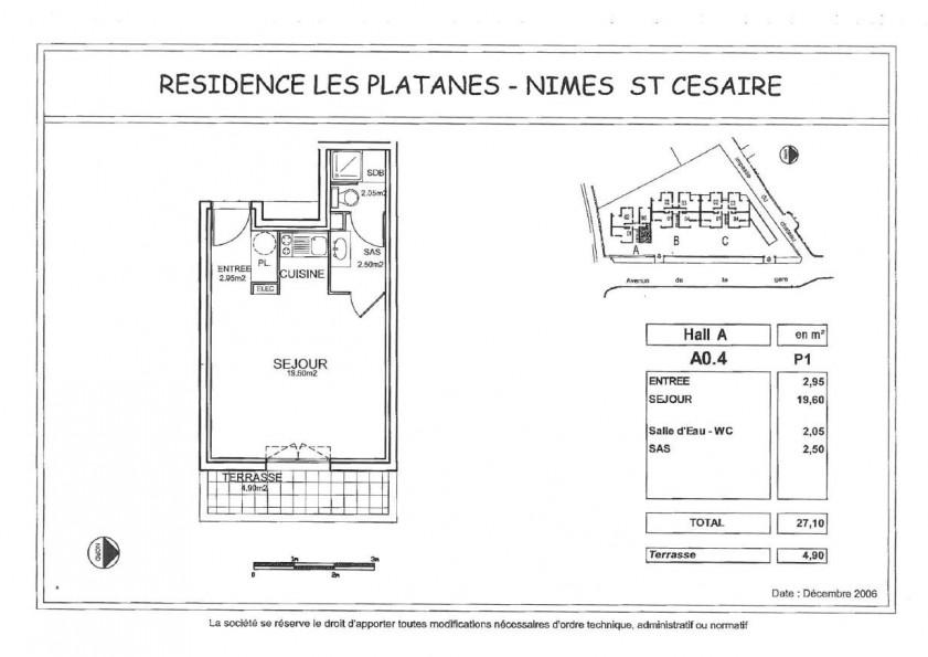 A louer Nimes 3432560892 Thélène immobilier