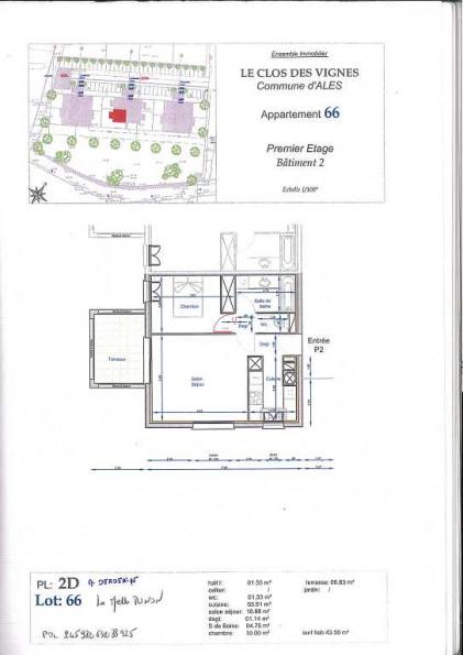 A louer Ales 3432615478 Thélène immobilier