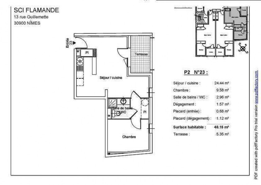 A louer Nimes 3432615480 Thélène immobilier