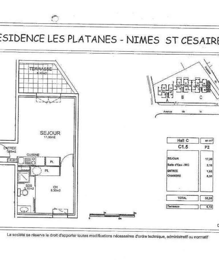A louer Nimes  3432619530 Thélène immobilier