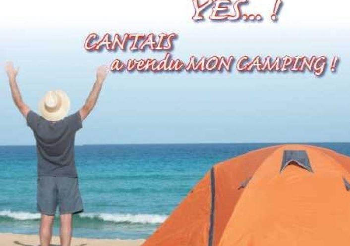 A vendre Camping Ergue Gaberic   Réf 343302968 - Cabinet cantais