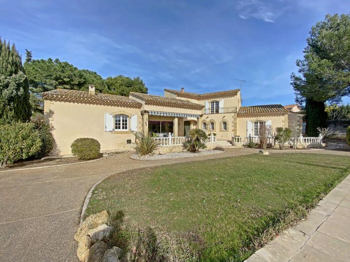 A vendre Villa d'architecte Nissan Lez Enserune   R�f 343322790 - Via sud immobilier