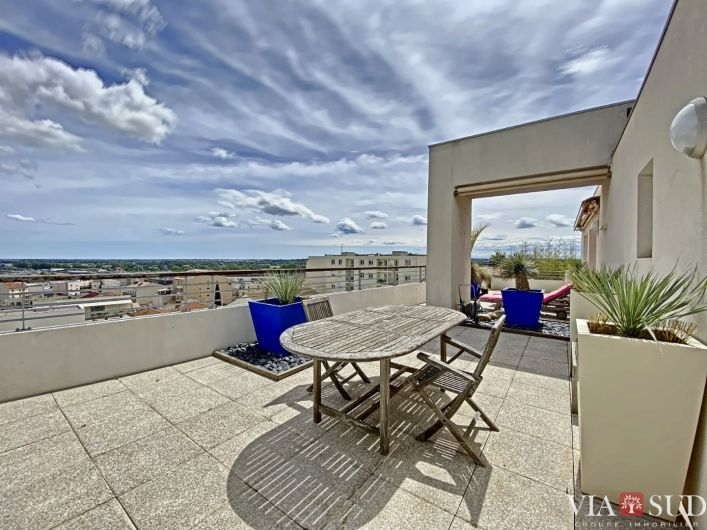 A vendre Appartement terrasse Beziers | R�f 343322845 - Via sud immobilier