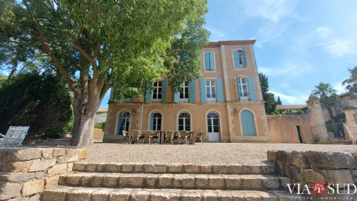 A vendre Maison de ma�tre Villeneuve Les Beziers | R�f 343322901 - Via sud immobilier