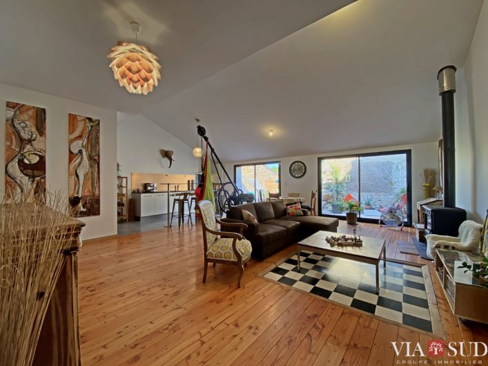 A vendre Maison de village Quarante   R�f 344852903 - Via sud immobilier