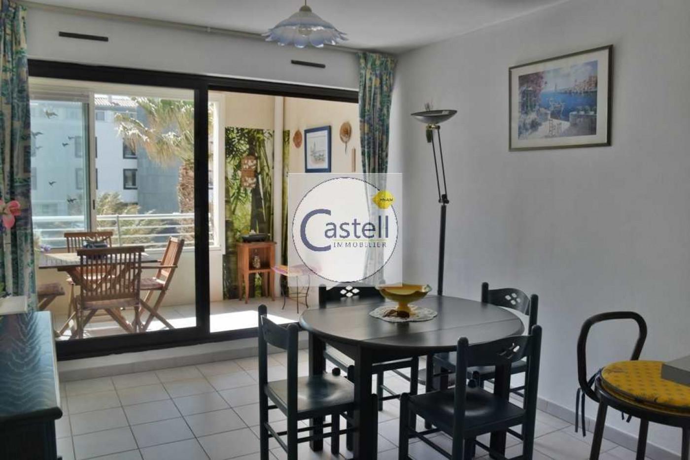 A vendre  Le Cap D'agde   Réf 343752995 - Castell immobilier