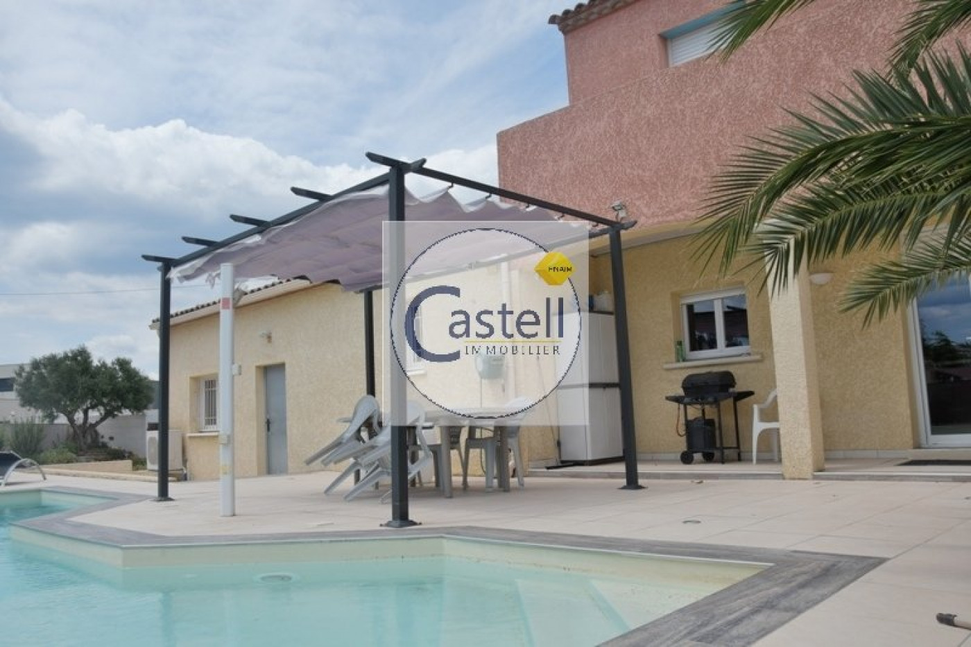 villa d 39 architecte en vente le grau d 39 agde r f 343753030 castell immobilier. Black Bedroom Furniture Sets. Home Design Ideas