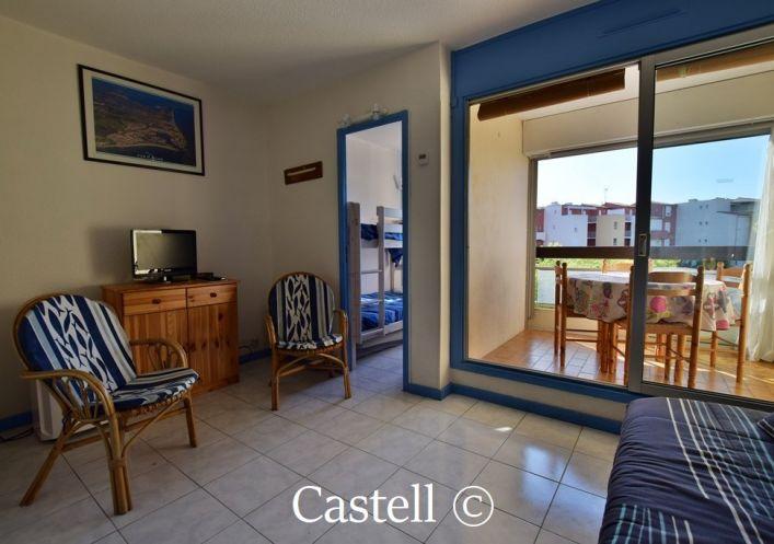 A vendre Appartement cabine Le Cap D'agde | Réf 343756221 - Castell immobilier