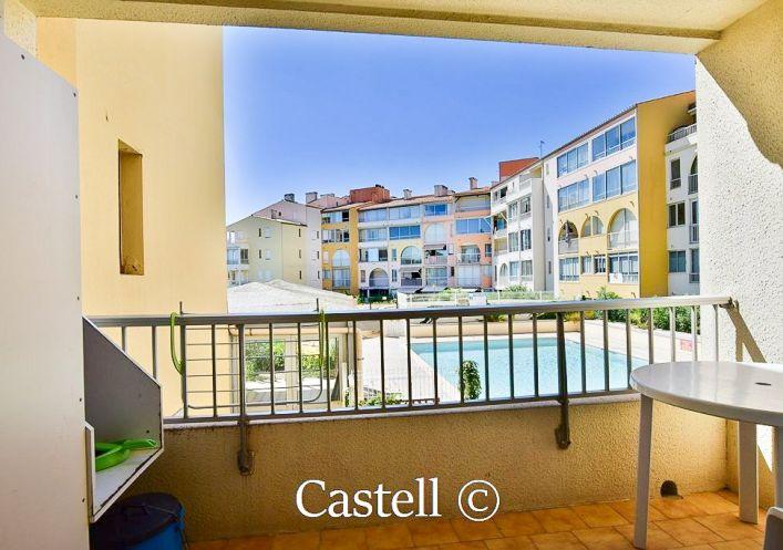 A vendre Studio Le Cap D'agde | Réf 343756228 - Castell immobilier