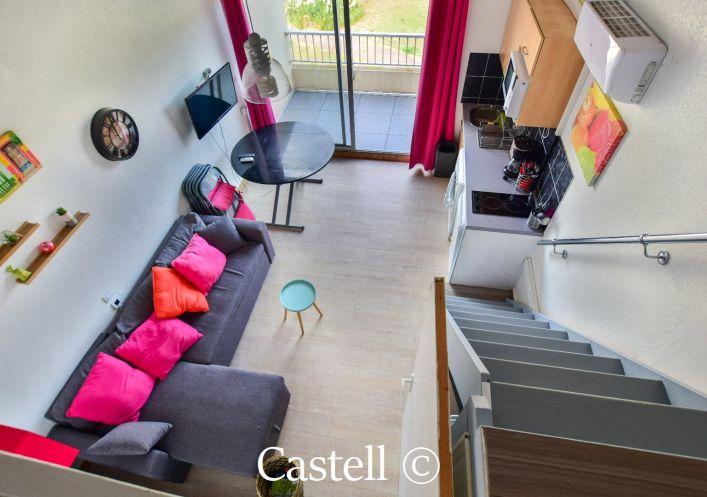 A vendre Studio cabine mezzanine Le Cap D'agde | Réf 343756604 - Castell immobilier