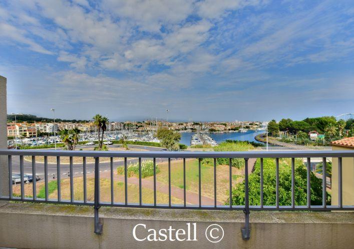 A vendre Studio cabine mezzanine Le Cap D'agde | Réf 343756635 - Castell immobilier