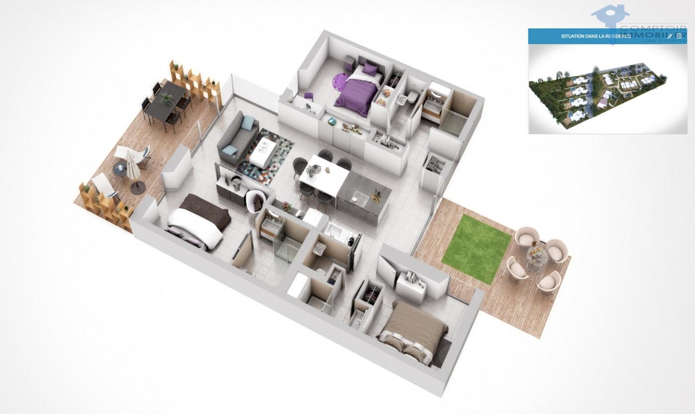 A vendre Lecci 3438027729 Comptoir immobilier de france