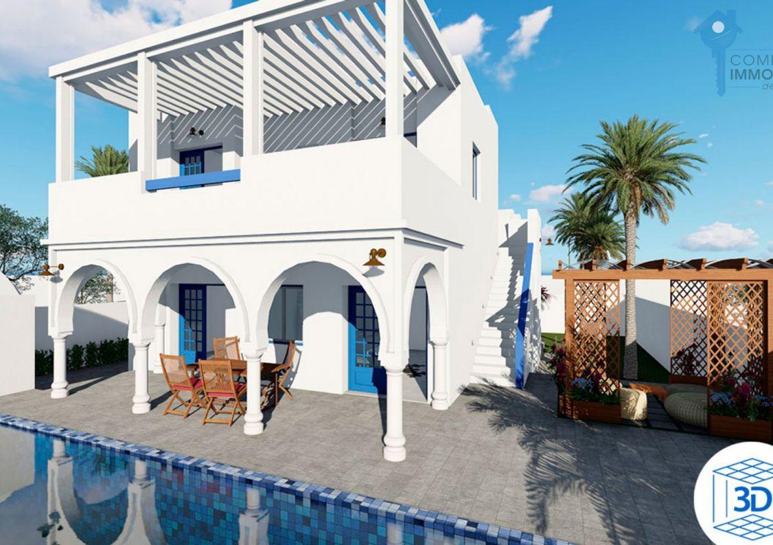 A vendre Villa Djerba | Réf 3438032130 - Comptoir immobilier de france