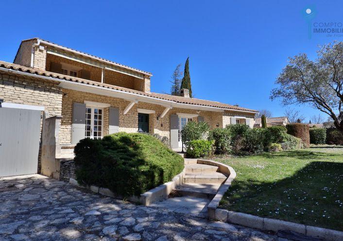 For sale Maison Gordes | R�f 3438061060 - Comptoir immobilier de france prestige