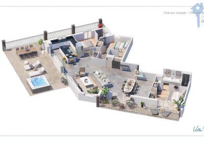 A vendre Villa sur toit Sainte Maxime   Réf 3438064709 - Adaptimmobilier.com