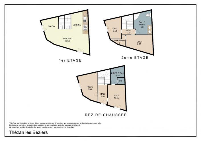 A vendre Thezan Les Beziers 343901360 Comptoir de l'immobilier