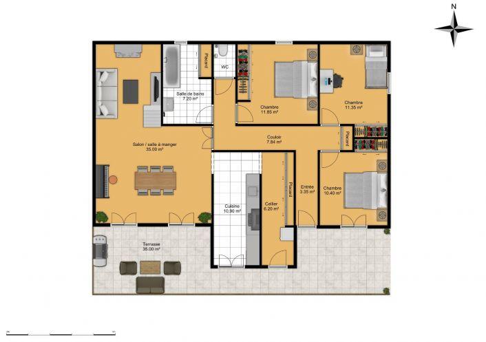 A vendre Puisserguier 343901519 Comptoir de l'immobilier