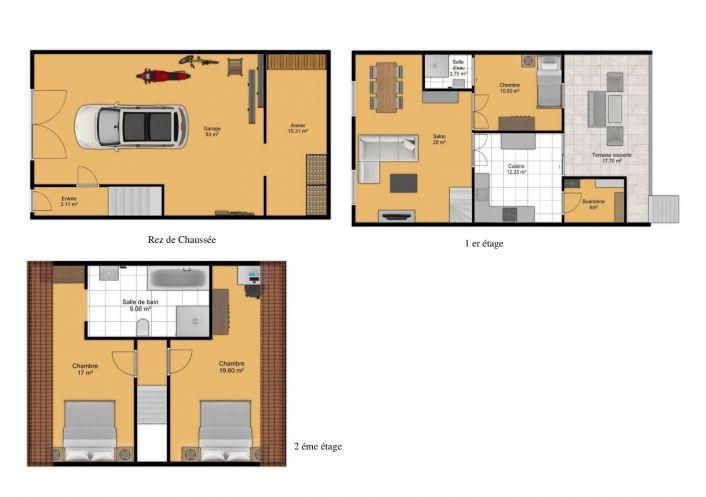 A vendre Quarante 343901605 Comptoir de l'immobilier
